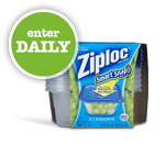 Right @ Home Ziploc Love Your Leftovers Sweepstakes with 5,000 Winners!