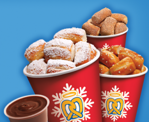Auntie Anne's Snowball Nuggets Are Here for the Holidays!  Print a FREE Shopping List, and Enter To WIN Coupons for FREE Snowballs!