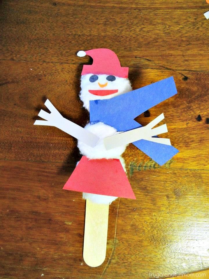 Cottonball Snowlady
