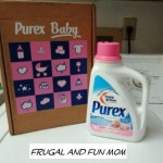 Review of Purex Baby Laundry Detergent! Enter to WIN a Coupon For A FREE Bottle!