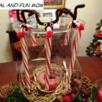 Reindeer Candy Cane Craft! A Childhood Favorite and Easy To Assemble!