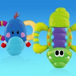 Review of the Nuby Jiggle Giggle Vibrating Teether! A Colorful, and Fun First Toy For Baby!