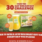 Jimmy Dean Delights and 100% Natural Florida Natural Orange Juice are Giving Away Free Tumblers, $250 Walmart Gift Cards, and a $1.25 Coupon!