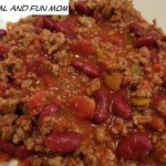 Chili Recipe with Del Monte Petite Cut Diced Tomatoes with Green Chilies! Needs Only 6 Ingredients!