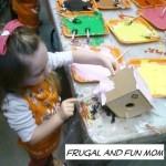Our First Trip in 2013 To The FREE Kid's Workshop at Home Depot! We Built Bird Houses!