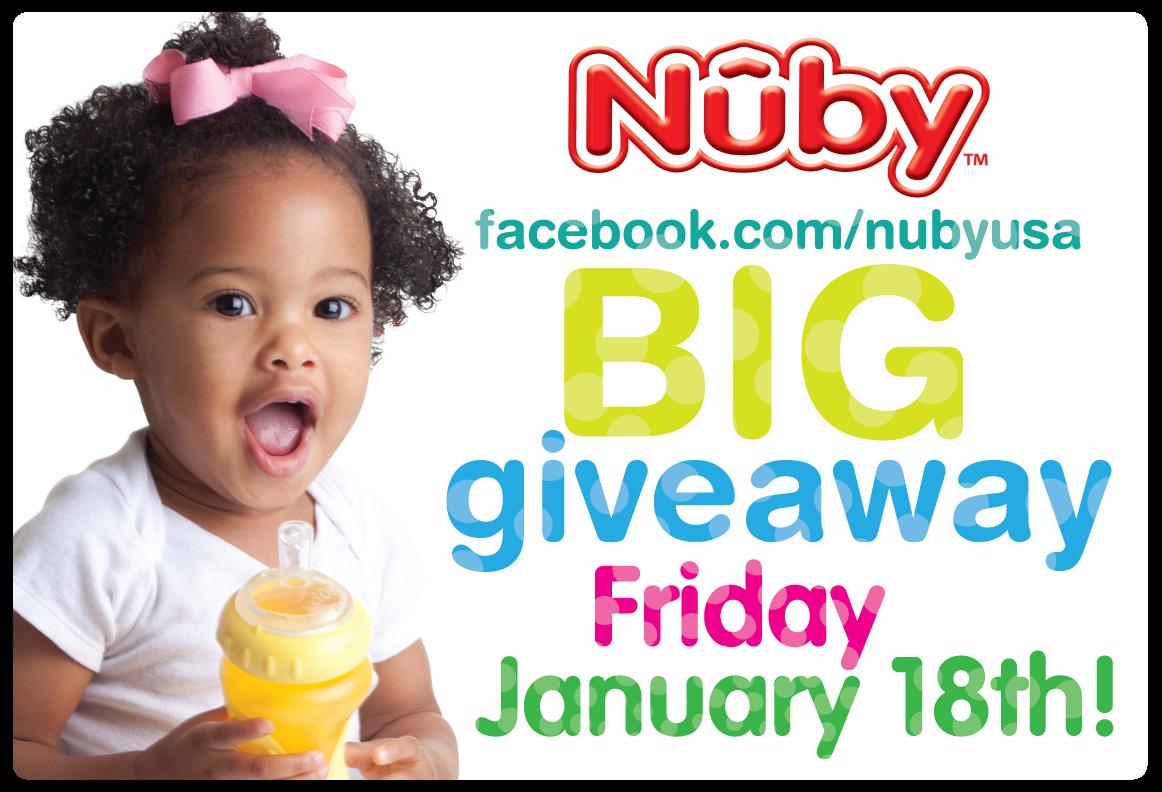january giveaway Nuby