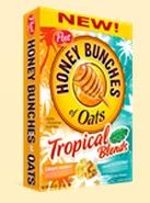 Honey Bunches of Oats Tropical Blends Box