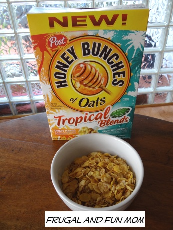 Honey Bunches of Oats Tropical Blends
