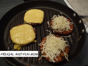 Morning Star Farms burgers with cheese