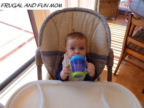 Nuby iMonster No-Spill 2 Handle Cup