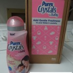 Purex Crystals for Baby Review and Giveaway! 2 Winners Get a FREE Full Size Bottle!