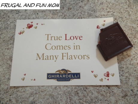 Strawberry Filled Ghirardelli