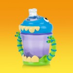 Review of the Nuby iMonster No-Spill 2 Handle Cup! I'm Hosting Giveaway For One As Well! It Is So Cute!