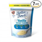 Better Bowls Instant Vanilla Pudding Review! Gluten Free and a Good Source of Fiber!