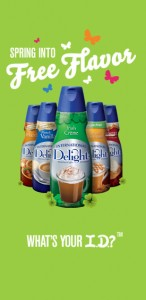 First 75,000 Get a FREE International Delight Coffee Creamer! Plus, 15 Will Win A Years Supply!