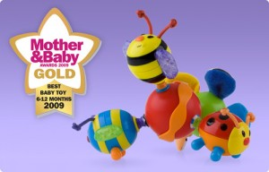 Nuby Twisty Bugz Teether