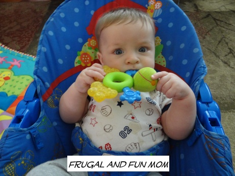 Teething with Nuby Coolbite 2