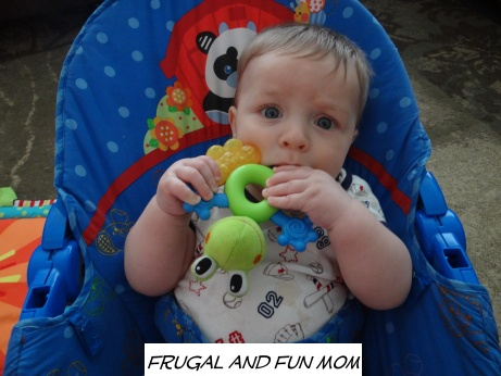 Teething with Nuby Coolbite