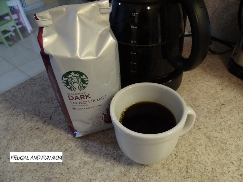 Brewed Starbucks Dark French Roast