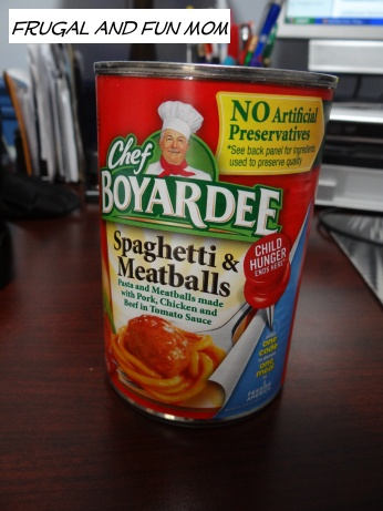 Child hunger Ends Here Chef Boyardee