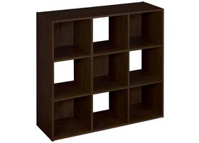 ClosetMaid 9 Cube Organizer Espresso