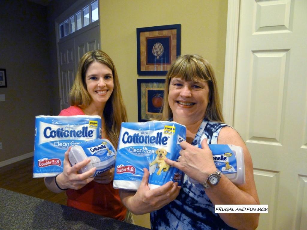 Cottonelle Clean Crew  Moms