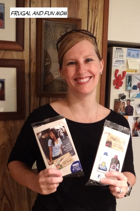 Mom with Woolite Samples Picture