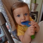Nuby koolSoother Teether Keys Review!  We Got This Just In Time For Tooth #2!