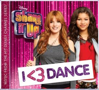 ShakeItUp CD I love dance