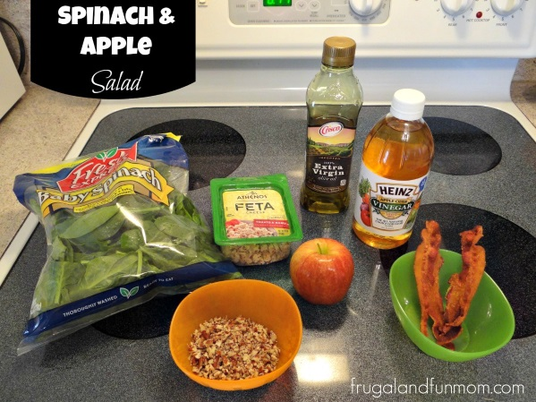 Spinach and Apple Salad Recipe