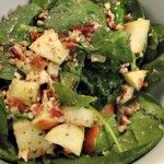 Spinach and Apple Salad Recipe! Great Compliments and Pretty Presentation!