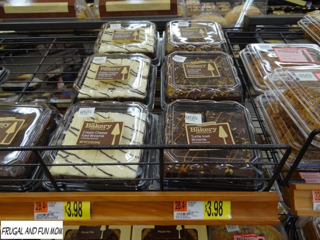 Walmart Brand Turtle Brownies