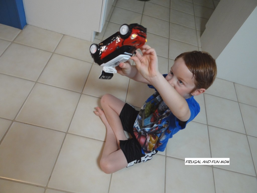 Boy with Road Rippers Hatchback