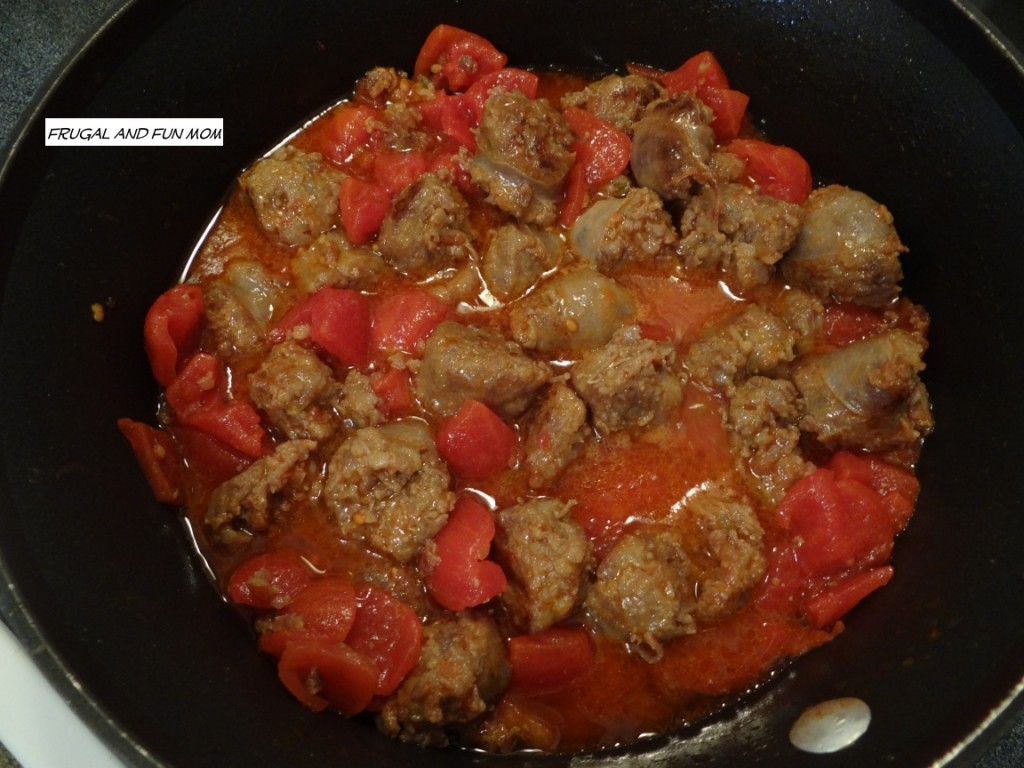 Italian Sausage with Tomatoes
