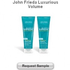 Free Beauty Care Sample of John Frieda Luxurious Volume Product!