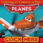 FREE Activity Sheets for Disney PLANES!  Coloring & Connect the Dots!
