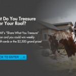 """Share What You Treasure"" For A Chance To Win A $2,500 Shopping Spree To The Home Depot From GAF!"