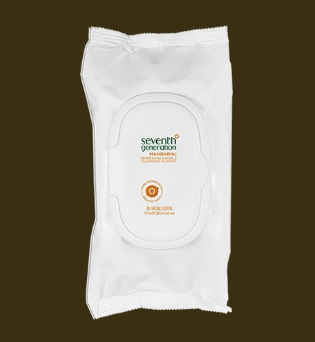 facial cloths mandarin seventh generation