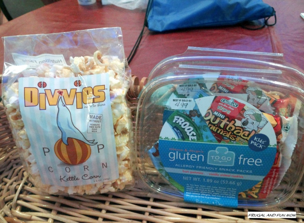 Dietary restriction products at Busch Gardens