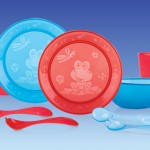 Nuby Fun Feeding Set! Cups, Plates, and Bowls That All My Kids Can Use! {Giveaway Ends 12 am 7/14/13}