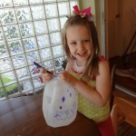 Upcycling A Milk Jug Into A Flower Pot!  An Easy And Fun Kids Garden Project!