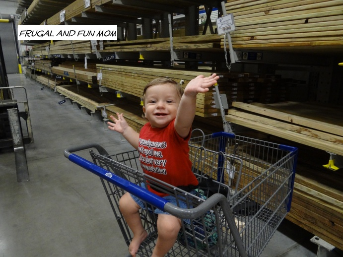 The Baby at Lowe's