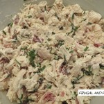 Bacon Chicken Salad Recipe! An Easy Twist On A Traditional Sandwich!