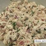 Bacon Chicken Salad Recipe! An Easy Twist On A Traditional Sandwich!