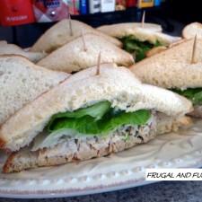 Bacon Chicken Salad Sandwiches