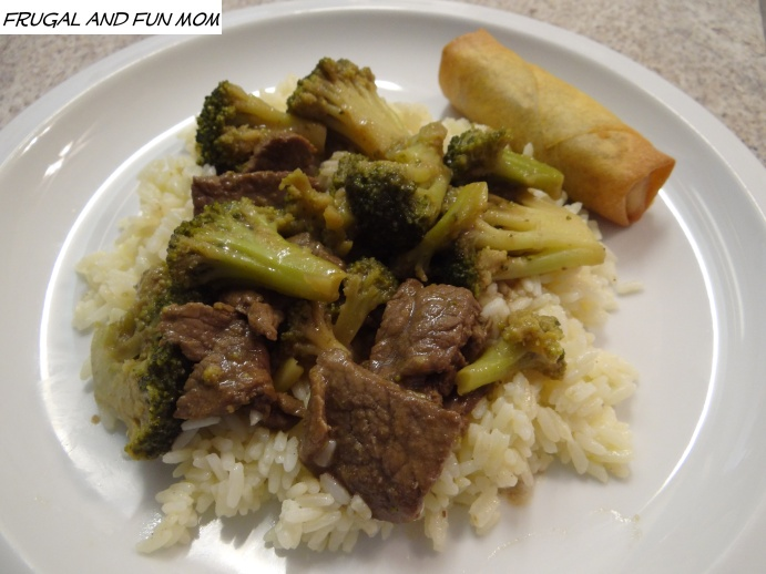 Beef With Broccoli Recipe on Rice