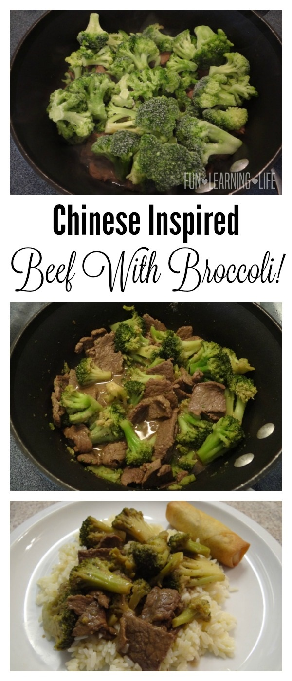 Chinese Inspired Beef With Broccoli