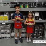 Our Recent Trip to the Lowe's Build and Grow! The Kids Completed a Fun Hands on Project for FREE!