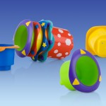 Review of the Nuby Splish Splash Stacking Cups!  Fun and Educational for Baby Bath Time!