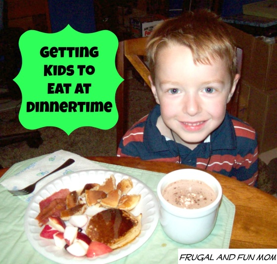 6 Tips to Get Kids Eating at Dinnertime